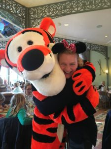 Maija at Disneyland Paris