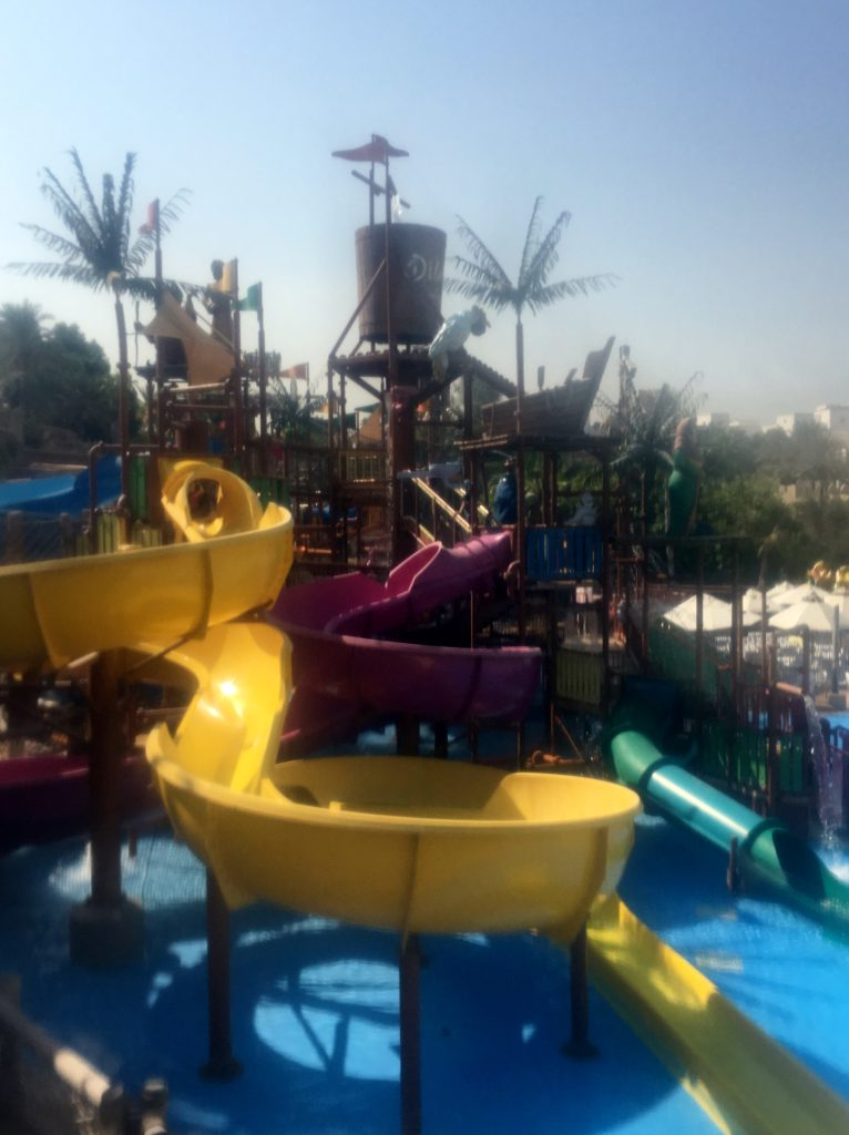 Kids area at Wild Wadi Waterpark