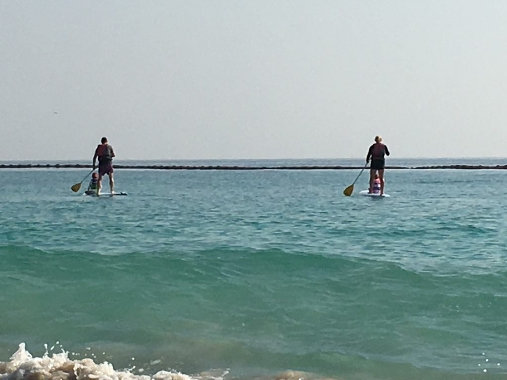 Stand Up paddleboarding in Oman