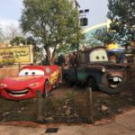 Lightening McQueen and Mater in Walt Disney Studios at Disneyland Paris Grand Family Getaways