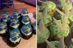 cupcakes Disney World Dessert Party Grand Family Getaways