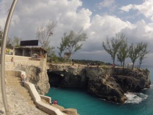 Negril Rick's Cafe Jamaica family holiday