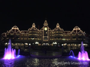 Disneyland Hotel luxury family holiday