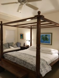 Haystack master bedroom luxury vacation rental Jamaica Tryall Club