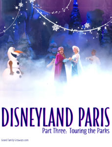 Disneyland Paris Touring Plans avoid waiting in lines Grand Family Getaways.com